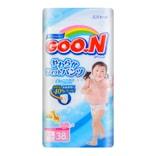 日本GOO.N大王 维E系列拉拉纸尿裤 女宝宝专用 #XL 12-20kg 38枚入 两款随机发送