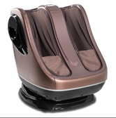 uKnead Leg Massager - Calf and Foot Shiatsu Rollers Air Compression and Heat