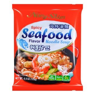 韩国NONGSHIM农心 袋装速食海鲜汤面 125g