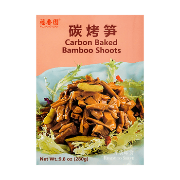 FXY Carbon baked bamboo shoots 280g