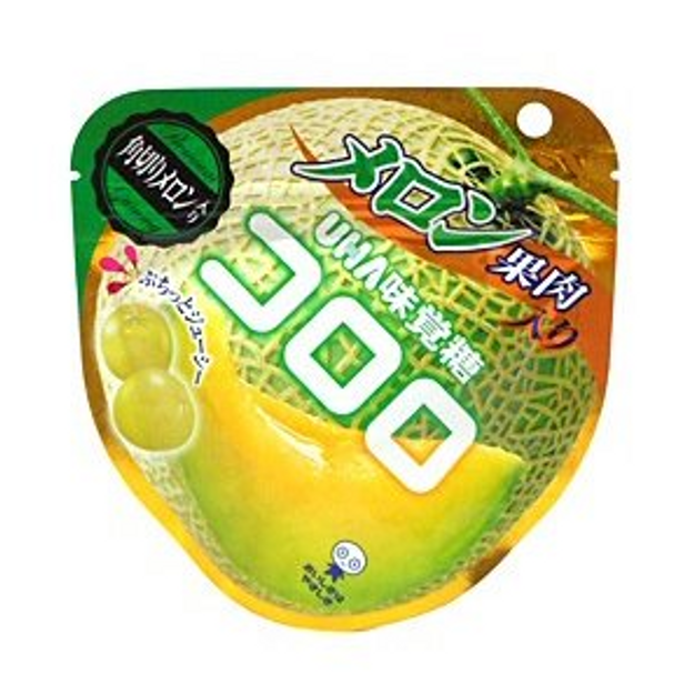 Product Detail - UHA Fruit Candy Melon Flavor Fall Limited 40g - image 0