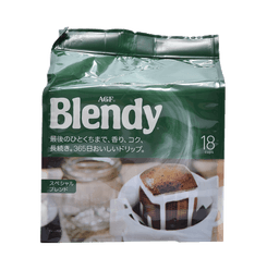 AGF Blend Coffee Regular Coffee Lip Special Bag Special Blend 18 Bags