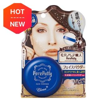 日本SANA莎娜 PORE PUTTY 毛孔隐形透明遮瑕干粉蜜粉饼 70g