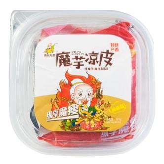 周游列果 魔芋凉皮 麻酱味(盒) 535g 陕西特产