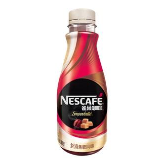 雀巢 即饮咖啡 丝滑焦糖风味 268ml