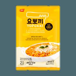 韩国YOPOKKI  韩式拉面炒年糕  芝士味 袋装 260g