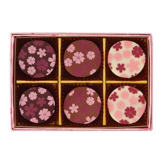 TOKYO ROKUMEIKAN Sakura Chocolate Jelly 6 pc