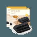 【中国直邮】网易严选 手作黑芝麻条 蜂蜜原味黑芝麻饼 200克*2盒