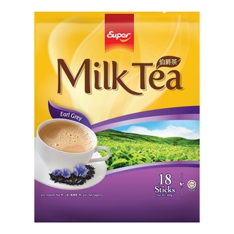 SUPER Earl Grey Milk Tea 450g 18sticks 450g