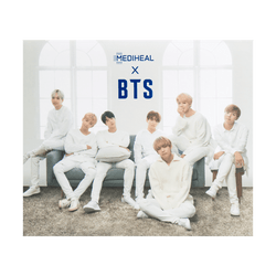 MEDIHEAL x BTS Hydrating Moisture Mask 10sheets + 10postcards