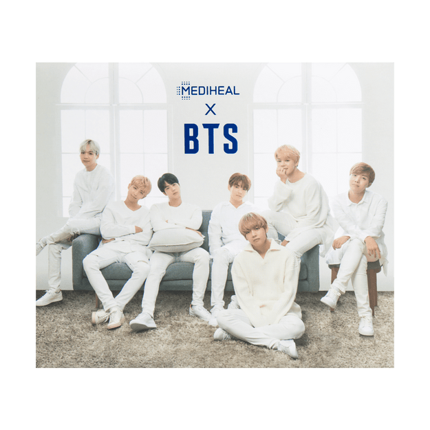 Product Detail - MEDIHEAL x BTS Hydrating Moisture Mask 10sheets + 10postcards - image 0