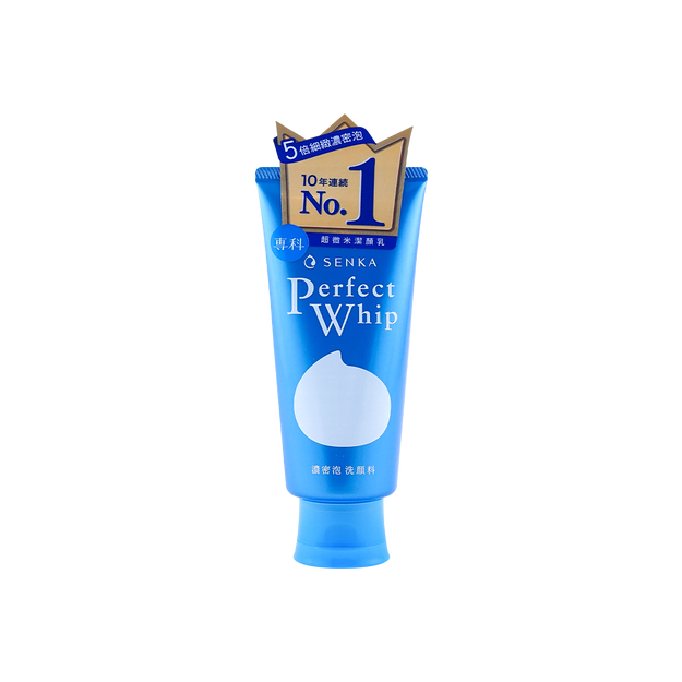 商品详情 - 日本SHISEIDO资生堂 SENKA洗颜专科 新版超微米浓密泡沫洁面乳 120g - image  0