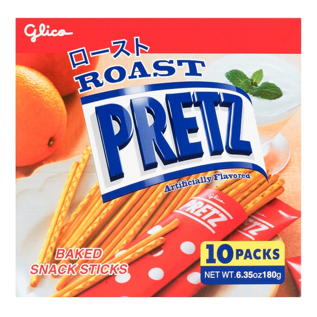 Product Detail - GLICO Prezt Roasted Stick 10packs Party Size 180g - image 0
