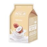 韩国 A'PIEU 椰子牛奶面膜 光润保湿 1片入