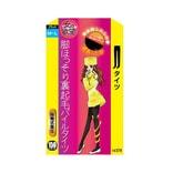 日本TRAIN女の欲望 发热分段压力瘦腿连裤袜 150D 黑色 M-L