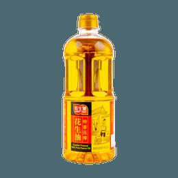 长生果 特香压榨花生油 1L