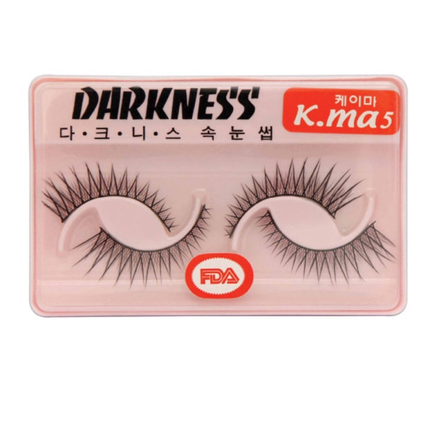 Product Detail - DARKNESS False Eyelashes  #Kma5 2Pair In 1Box - image 0