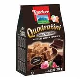 意大利LOACKER莱家 QUADRATINI 华夫小威化 黑巧克力味 250g
