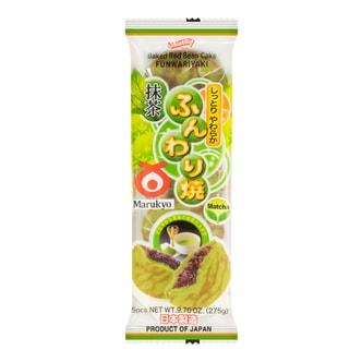 日本丸京菓子庵 虎皮铜锣烧 红豆抹茶味 5包入 275g