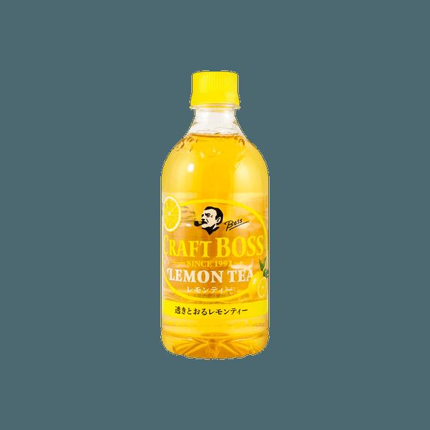商品详情 - 日本SUNTORY三得利 Craft Boss 柠檬茶 450ml - image  0