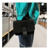KOREA MAGZERO Flap Mini Crossbody Bag #Black [Free Shipping]