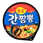 韩国SAMYANG三养 辣炒海鲜铁板面 碗面 105g