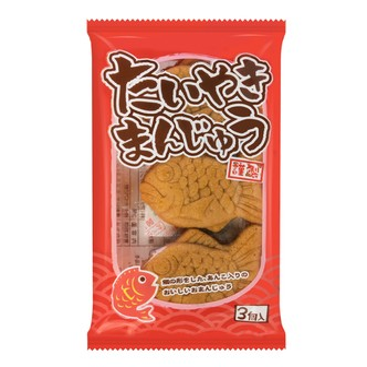 日本ES TRUST 鲷鱼型红豆馅铜锣烧 114g
