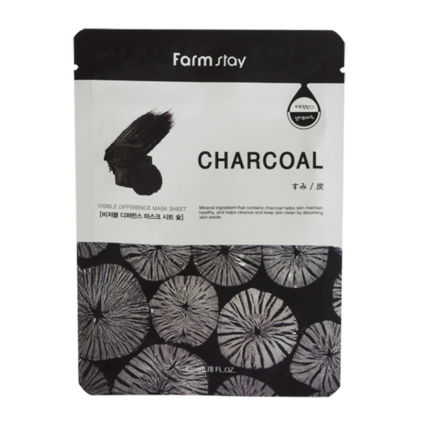 Product Detail - FARM STAY Charcoal Visible Different Mask - image 0