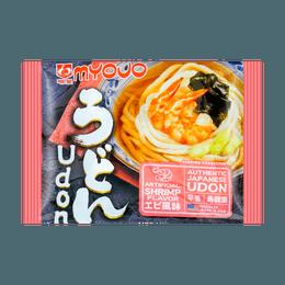 日本MYOJO明星 速食乌冬汤面 鲜虾风味 205g
