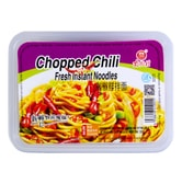 NANJIECUN Chopped Chili Fresh Instant Noodles 266g