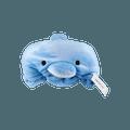 名创优品Miniso 海豚带帽休闲毯 蓝色