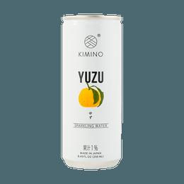 Sparkling Yuzu Water 250ml