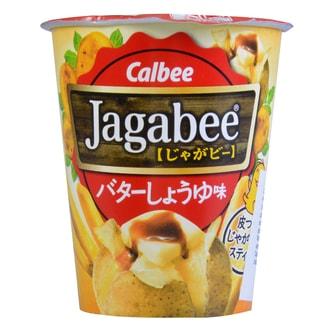 日本CALBEE卡乐B JAGABEE杯装薯条 黄油味 40g 6/1/2017