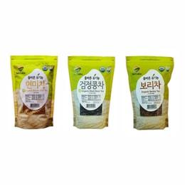 McCabe Organic Tea 1.5-Pound (3-Pack) (Barley Tea Black Bean Tea and Brown Rice Tea)