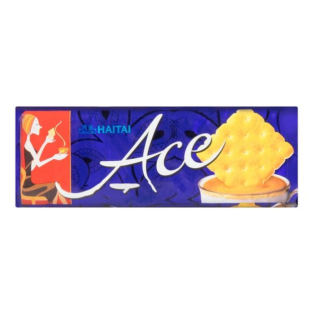 商品详情 - 韩国HAITAI海太 低糖低热量 ACE咸味饼干 121g - image  0