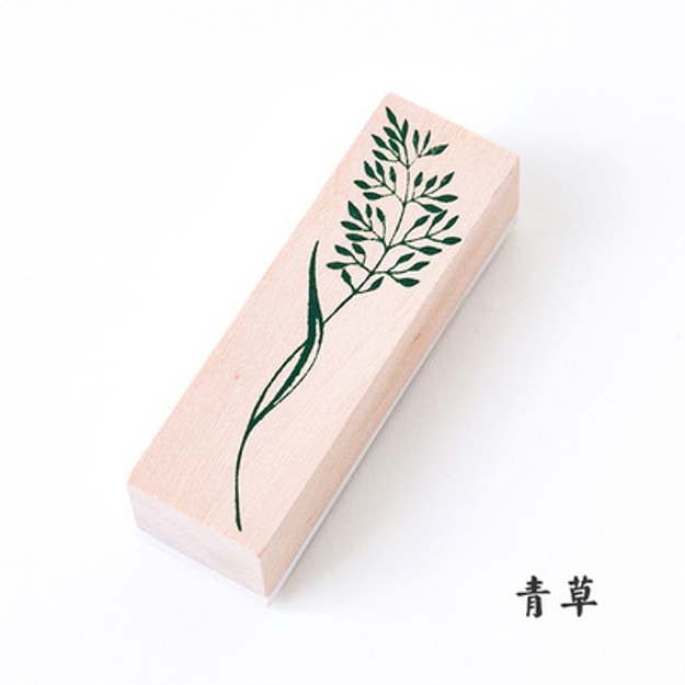 Product Detail - SUGERSHOP All things fresh wooden stamps Green grass 100g - image 0