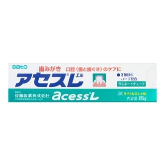 日本SATO佐藤 ACESS 牙周护理牙膏 薄荷味 125g