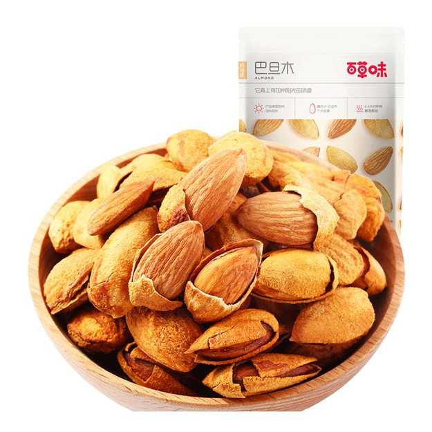 Product Detail - [China direct mail] BE&CHEERY Nuts roasted seeds Batan wood almond almonds casual snacks specialties 100g - image 0
