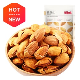 [China direct mail] BE&CHEERY Nuts roasted seeds Batan wood almond almonds casual snacks specialties 100g