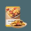 【中国直邮】网易严选 综合水果脆片 100克 水果干 办公室休闲零食