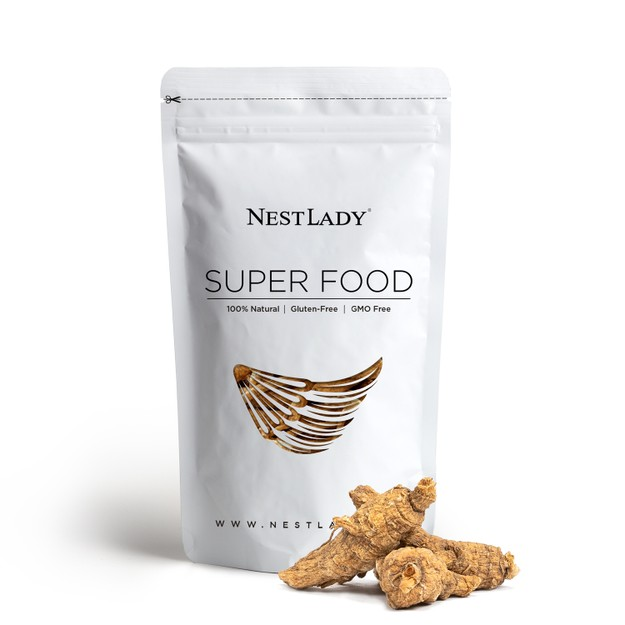Product Detail - NESTLADY American Ginseng Whole Root   125g - 100%natural  Non-GMO Gluten Free Herb  Grown Hand Selected - image 0