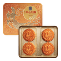 HONG KONG MEI-XIM White Lotus Seed Paste Mooncake With Egg Yolks 4pc 740g