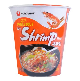 NONGSHIM Cup Ramyun Spicy Shrimp 67g