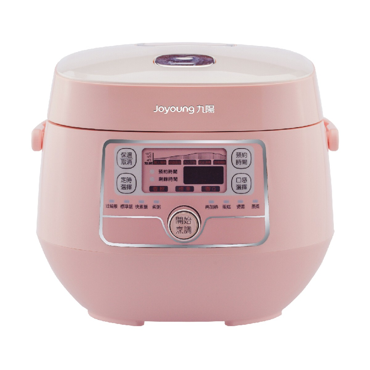 Yamibuy.com:Customer reviews:[NEW] JOYOUNG Mini Rice Cooker 2L JYF-20FS987M #Pink