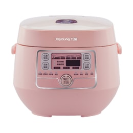 【Pre-order-Ship in 5~15 Days】[NEW] JOYOUNG Mini Rice Cooker 2L JYF-20FS987M #Pink
