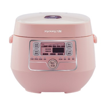 【Pre-order-Ship in 2~5 Days】[NEW] JOYOUNG Mini Rice Cooker 2L JYF-20FS987M #Pink