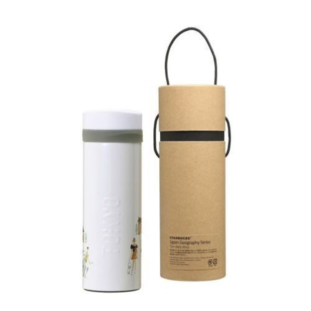 STARBUCKS JAPAN New Geography Series TOKYO Stainless Bottle With Case 355ml