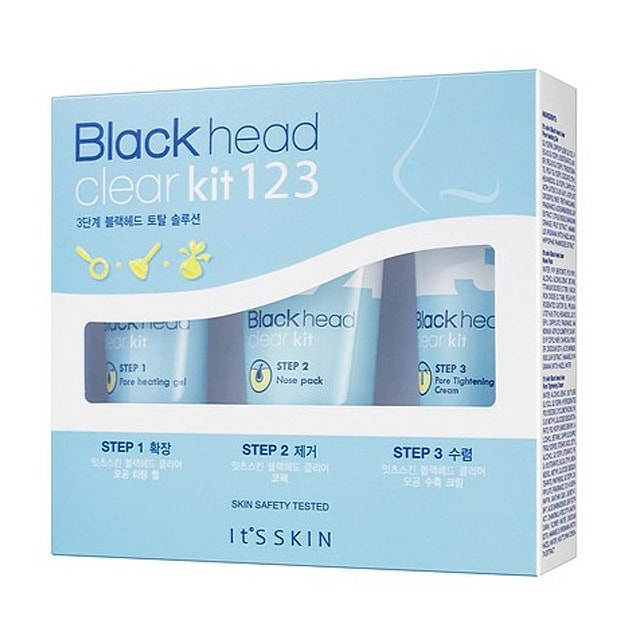Yamibuy.com:Customer reviews:IT'S SKIN Black head Clear Kit 123