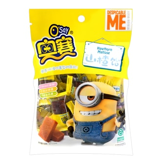 JONNIC-Food OSAY Hawthorn Maltose Minion Made 150g