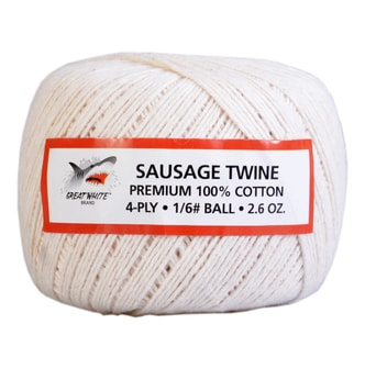 GREAT WHITE Sausage Twine